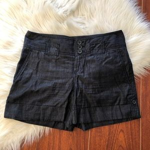 The Limited Cuffed Denim Shorts Drew Fit, Size 6